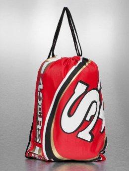 Forever Collectibles Batohy do mesta NFL Cropped Logo San Francisco 49ers èervená