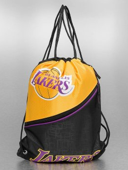 Forever Collectibles Bolsa NBA Diagonal Zip Drawstring LA Lakers negro