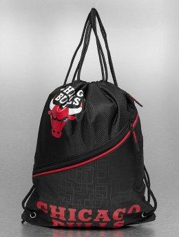 Forever Collectibles Gympapåse NBA Diagonal Zip Drawstring Chicago Bulls svart