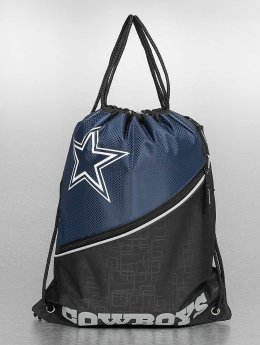 Forever Collectibles Sacchetto NFL Diagonal Zip Drawstring Dallas Cowboys nero