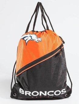 Forever Collectibles Sacchetto NFL Diagonal Zip Drawstring Broncos nero