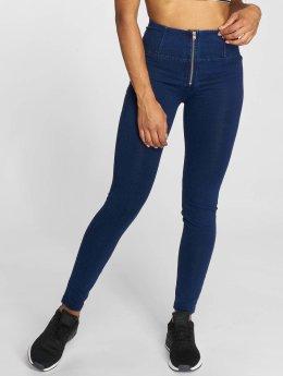 Freddy Jean taille haute Pantalone Lungo bleu