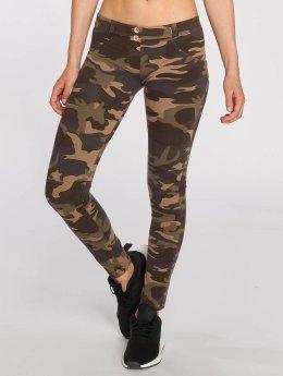 Freddy Skinny Jeans Pantalone Lunga kamufláž
