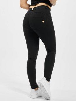 Freddy Skinny Jeans Regular Waist schwarz