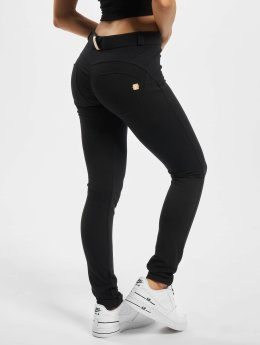 Freddy Slim Fit Jeans Regular Waist čern