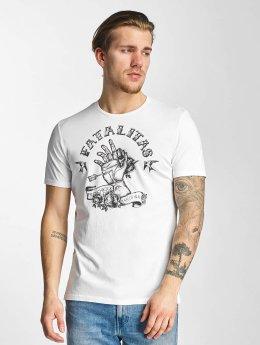 French Kick T-shirt Ectoplasme bianco