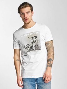 French Kick T-Shirt Diablesses blanc