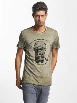 French Kick T-shirt Bavu cachi