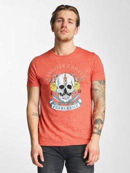 French Kick t-shirt Amphitryo rood