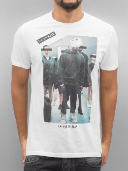 French Kick T-Shirt Slip Star weiß