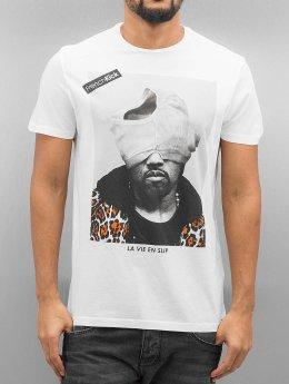 French Kick T-Shirt Kaka weiß