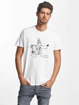 French Kick T-Shirt Woaow weiß