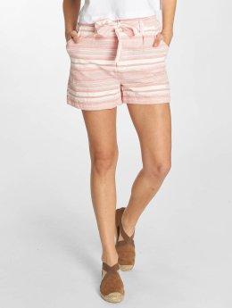 Fresh Made Bermuda Shorts Apricot/White
