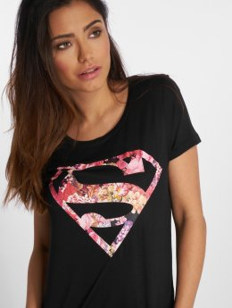 Fresh Made Camiseta Supergirl negro
