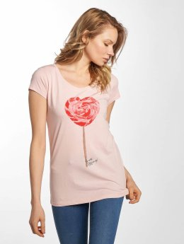 Fresh Made Camiseta Basic rosa