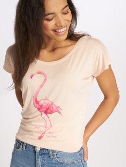 Fresh Made Camiseta Oversize rosa