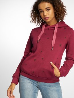 Fresh Made Sweat capuche Allover rouge