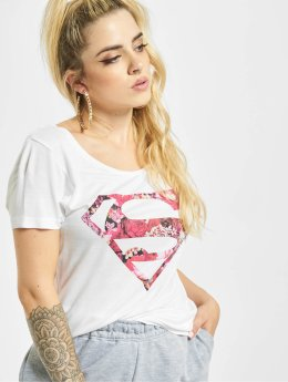 Fresh Made T-Shirt Supergirl blanc