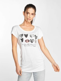 Fresh Made T-Shirt Heart blanc