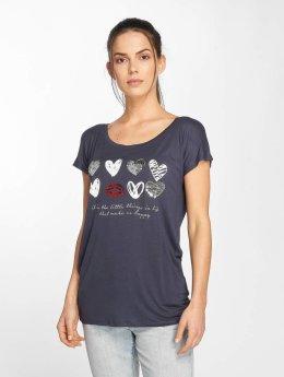 Fresh Made T-Shirt Heart blau
