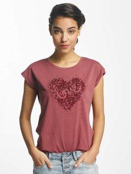 Fresh Made T-Shirt Love rosa