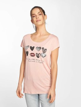 Fresh Made T-Shirt Heart rosa