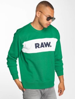 G-Star Пуловер Sherland зеленый