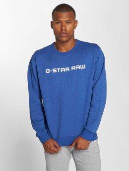 G-Star Пуловер Loaq Heavy Sherland синий