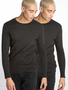 G-Star Camiseta de manga larga Base negro
