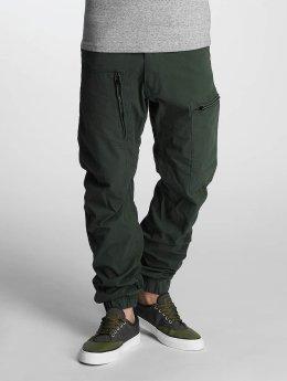 G-Star Chino Powel 3D Scota Weave Tapered Cuffed grün