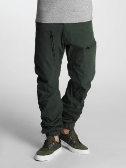 G-Star Chino pants Powel 3D Scota Weave Tapered Cuffed green