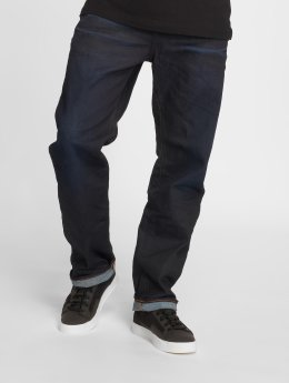 G-Star Dżinsy straight fit 3301 niebieski