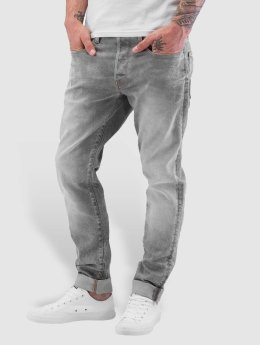 G-Star Jean carotte antifit 3301 Tappered gris