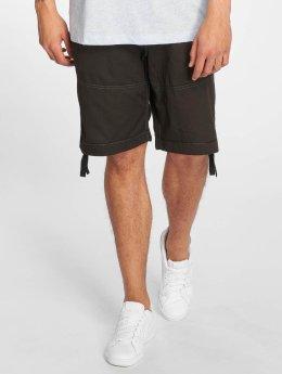G-Star Pantalón cortos Rovic-B DC Premium Twill Loose 1/2 negro
