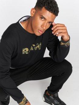 G-Star Pullover Tahire Stalt schwarz