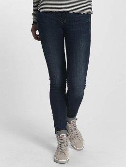 G-Star Skinny Jeans Midge Zip blå