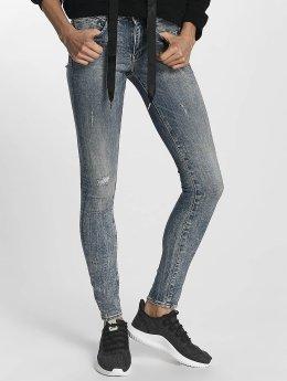 G-Star Skinny jeans Midge Zip blauw