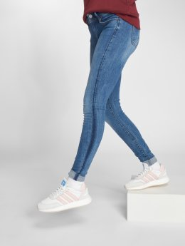 G-Star Skinny Jeans Lynn D-Mid Trender Ultimate Stretch Denim Super Skinny niebieski