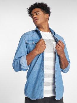 G-Star Skjorte 3301 blå