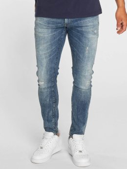 G-Star Slim Fit Jeans 3301 blauw