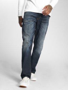 G-Star Straight Fit Jeans 3301 modrý