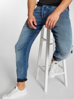 G-Star Straight Fit Jeans Arc 3D Tapered modrý