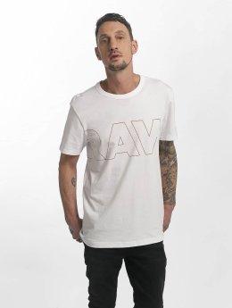 G-Star T-Shirt RC Compact Jersey Kremen blanc