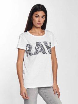 G-Star T-Shirt RC Oluva Straight NY Jersey blanc