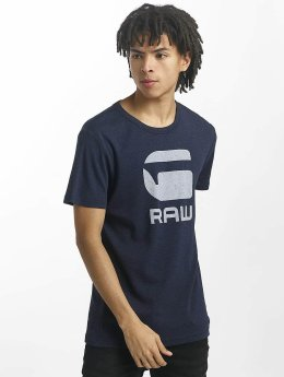 G-Star T-Shirt Drillon Cool Rib blau
