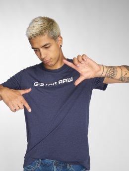 G-Star T-Shirt Loaq NY Jersey blau