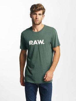 G-Star t-shirt Wokro Compact Jersey grijs