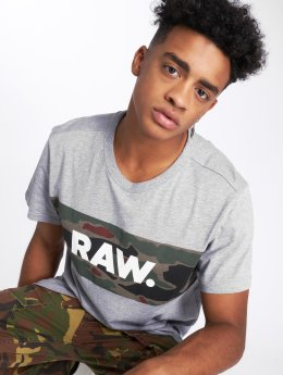 G-Star t-shirt Tairi  grijs