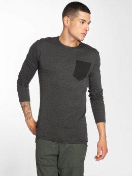 G-Star T-Shirt manches longues Belfurr Compact Jersey Regular Pocket Rib noir