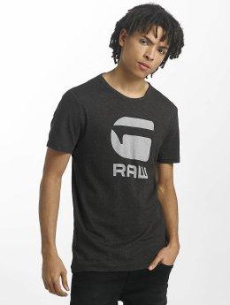 G-Star T-Shirt Drillon Cool Rib schwarz
